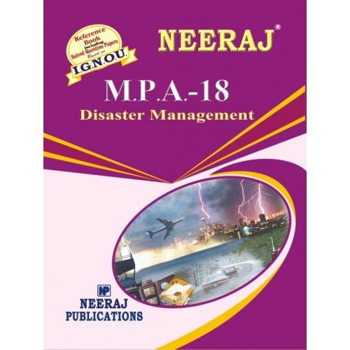 IGNOU: MPA-18  Disaster Management-English Medium