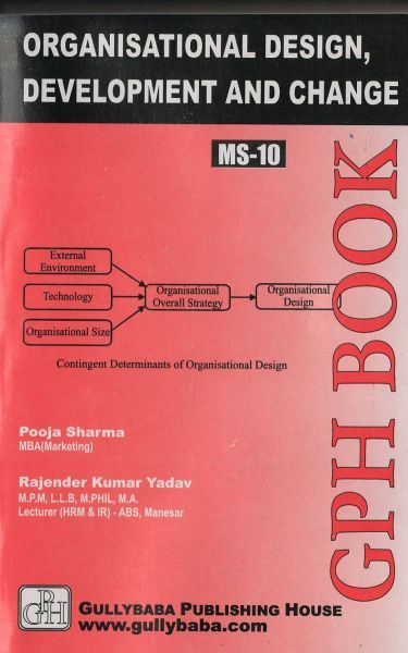 MS10 Organizational Design