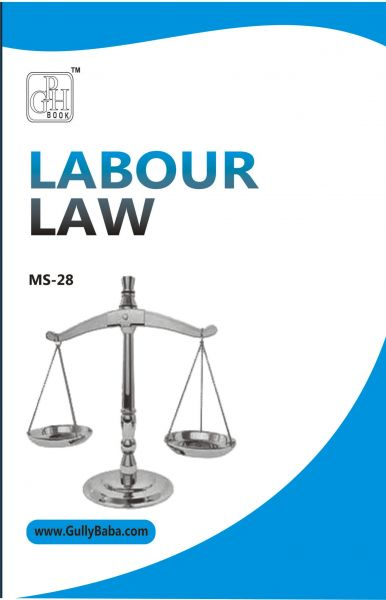 MS 28 Labour Law (IGNOU Help book for MS-28 in English Medium)