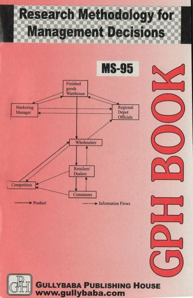MS95 Research Methodology For Management Decisions (IGNOU Help book for MS-95 in English Medium)