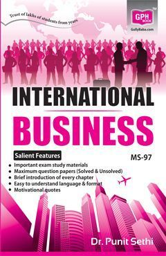 MS 97 International Business (IGNOU Help book for MS-97 in English Medium)