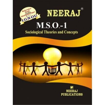 IGNOU: MSO-1 Sociological Theories and Concepts-English Medium