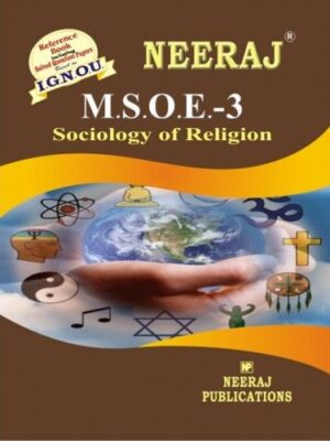 IGNOU: MSOE-3 Sociology of Religion-English Medium