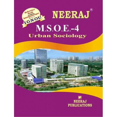 IGNOU: MSOE-4 Urban Sociology-English Medium