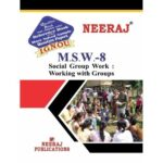 MSW8  ( IGNOU Guide Book For MSW8 ) English Medium