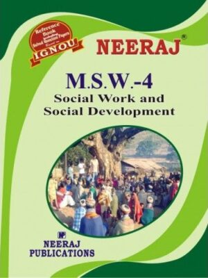 IGNOU: MSW-4 Social Work and Social Development-English Medium