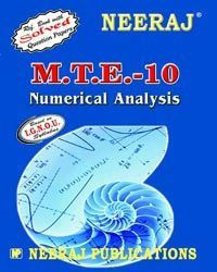 IGNOU : MTE-10 Numerical Analysis- English Medium