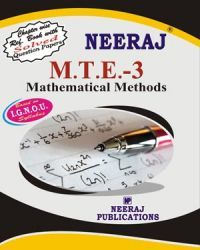 IGNOU : MTE-3 Mathematical Methods- English Medium
