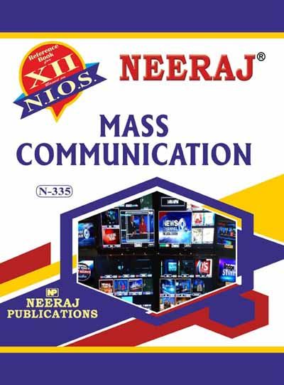 NIOS 335 Mass Communication Guide/Book in English Medium for 2020 Exam