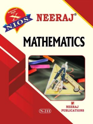 NIOS (211) Mathematics Guide/Book for 10th in English Medium for 2020 Exam