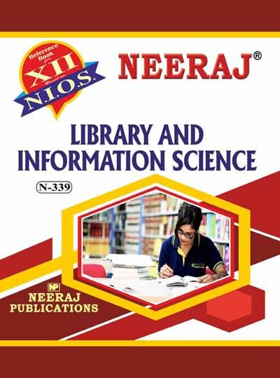 NIOS 339 Library & Information Science Guide Book in English Medium