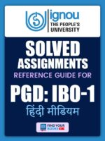 PGDIBO1 IGNOU Solved Assignment Hindi