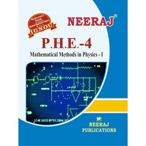 IGNOU PHE-4 Mathematical Methods in Physics-I- English Medium