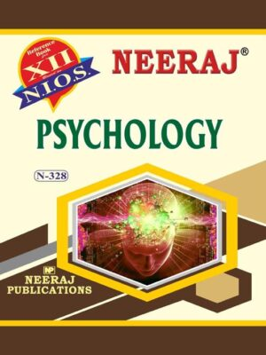 NIOS Psychology 328 Book for 12th Class for 2020 Exams