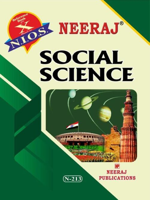 NIOS 10th Social Science Book in English Medium - COD.