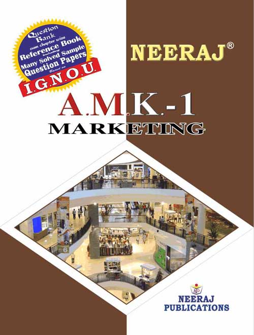 AMK1 Marketing ( IGNOU Guide Book For AMK1 ) English Medium