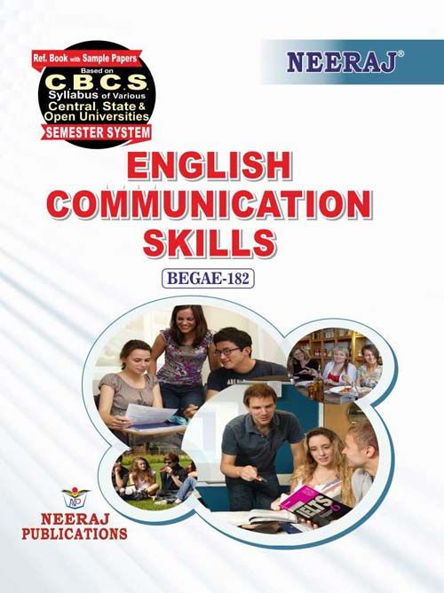 BEGAE-182 Book-English Communication Skills for 2020 Exams