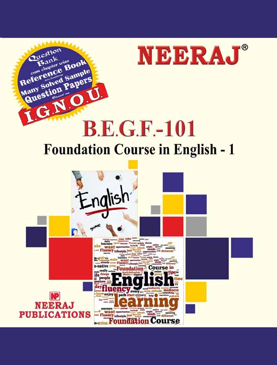 BEGF-101(FEG-1) English - IGNOU Guide Book for BEGF-101