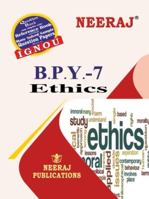 IGNOU BPY-7 Ethics in English Medium