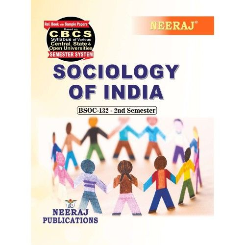 BSOC-132 Book in English Medium for 2020 Exams
