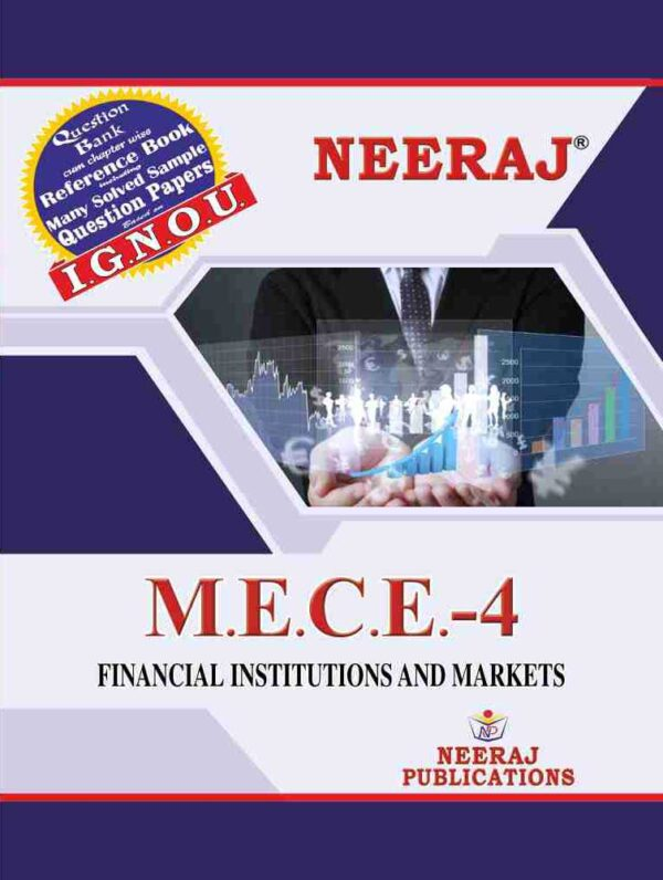 MECE-004 Financial Institutions and Markets in English Medium