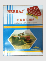 Buy MRDE-3 LAND REFORMS AND RURAL DEVELOPMENT Book Online at Low Prices in India   MRDE-3 LAND REFORMS AND RURAL DEVELOPMENT Reviews & Ratings - findyourbooks.in