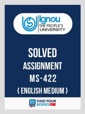 IGNOU MS-422 Bank Financial Management Solved Assignment 2018 English Medium