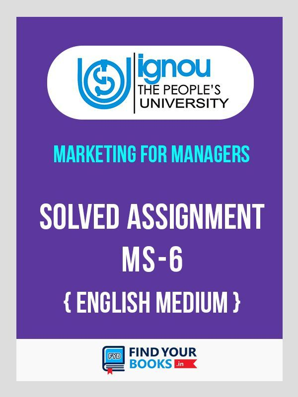 MS-6 IGNOU  Solved Assignment 2019- 1st Sem