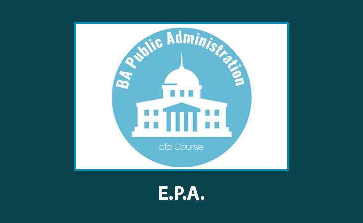 EPA- Solved Assignments