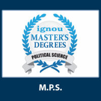 MPS- MA Pol Science Assignments