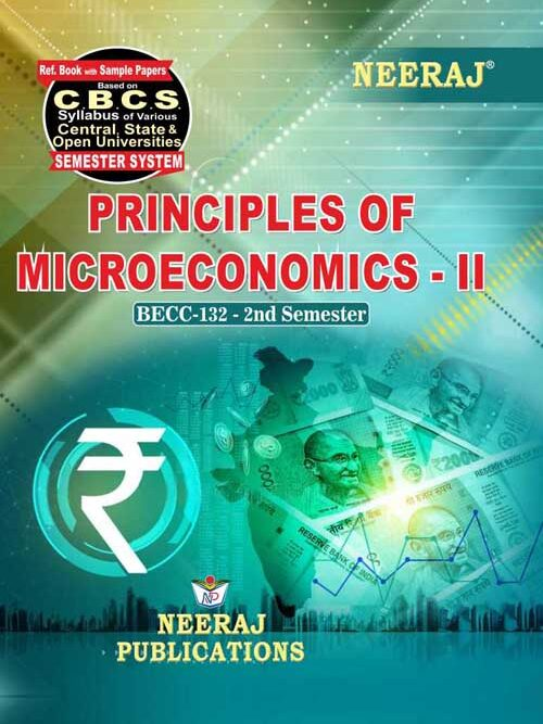 BECC-132 Ignou GuideBook in English Medium - Principles of Microeconomics-II