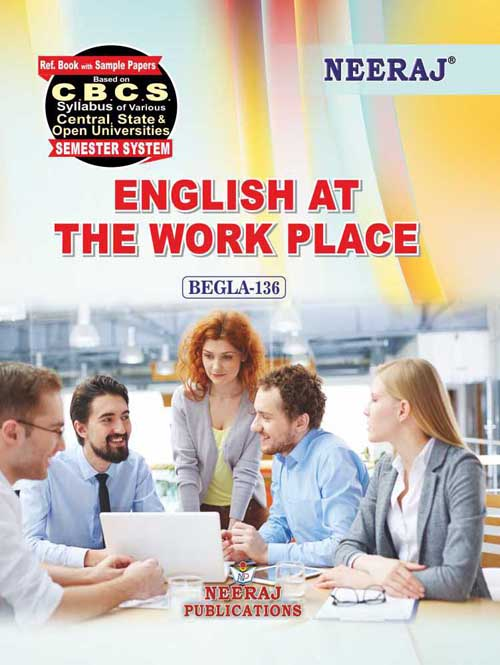BEGLA-136 Ignou GuideBook - English at The Work Place