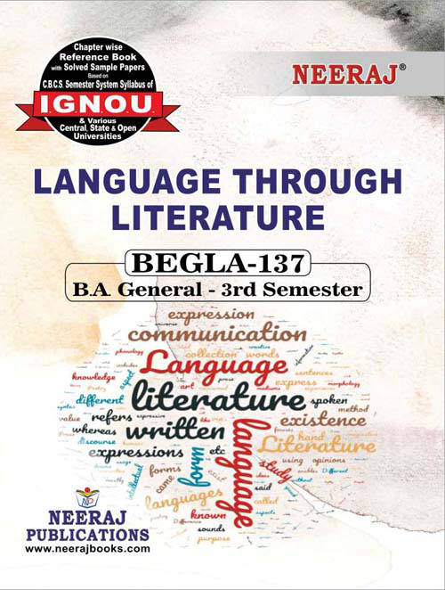 BEGLA-137 Ignou GuideBook - Language Through Literature