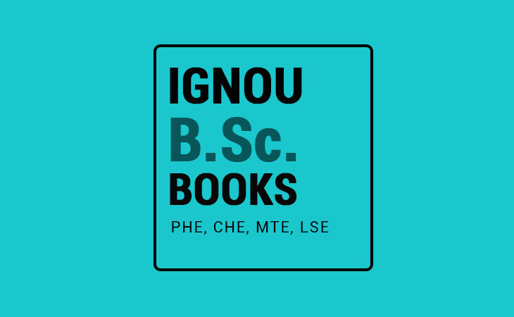 Ignou BSC Books/Guides