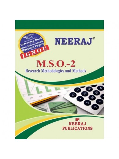 MSO2 IGNOU Guide Book in English Medium