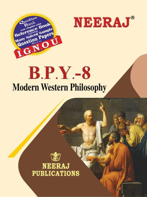 IGNOU BPY-8 Modern Western Philosophy in English Medium