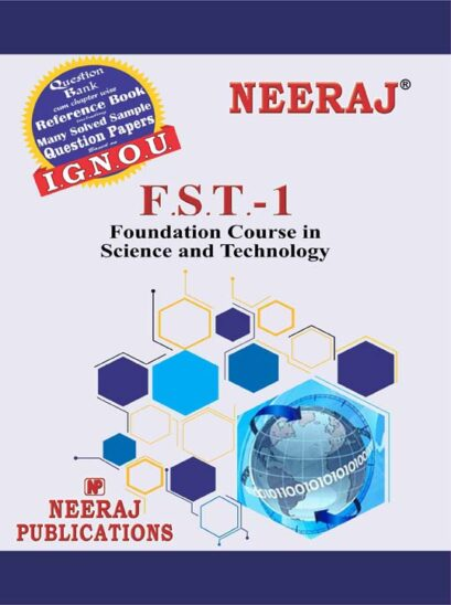 FST1 Science & Technology ( IGNOU Guide Book For FST1 ) English Medium