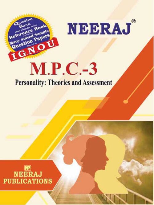 MPC-3 IGNOU Guide/Book in English Medium
