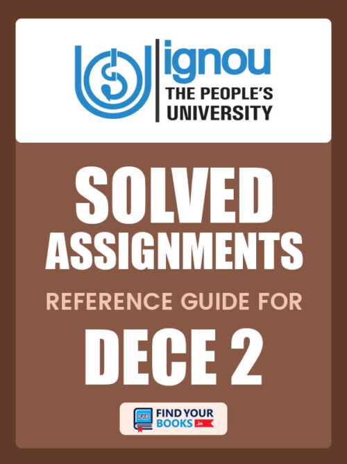 DECE2 Ignou Solved Assignment Hindi Medium