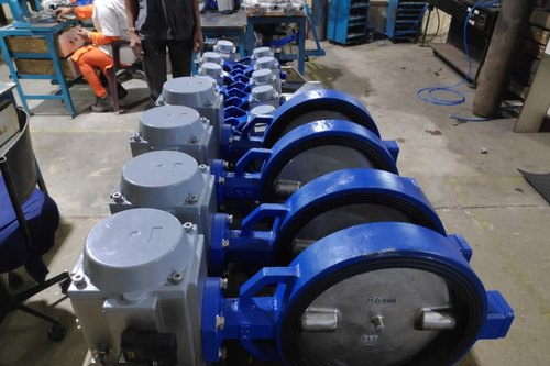 actuator-butterfly valves