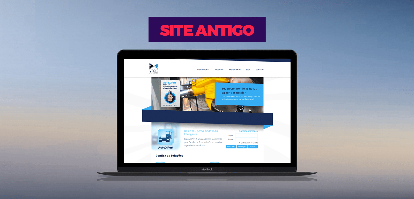 Fluxo Marketing Digital XPert Site Antigo