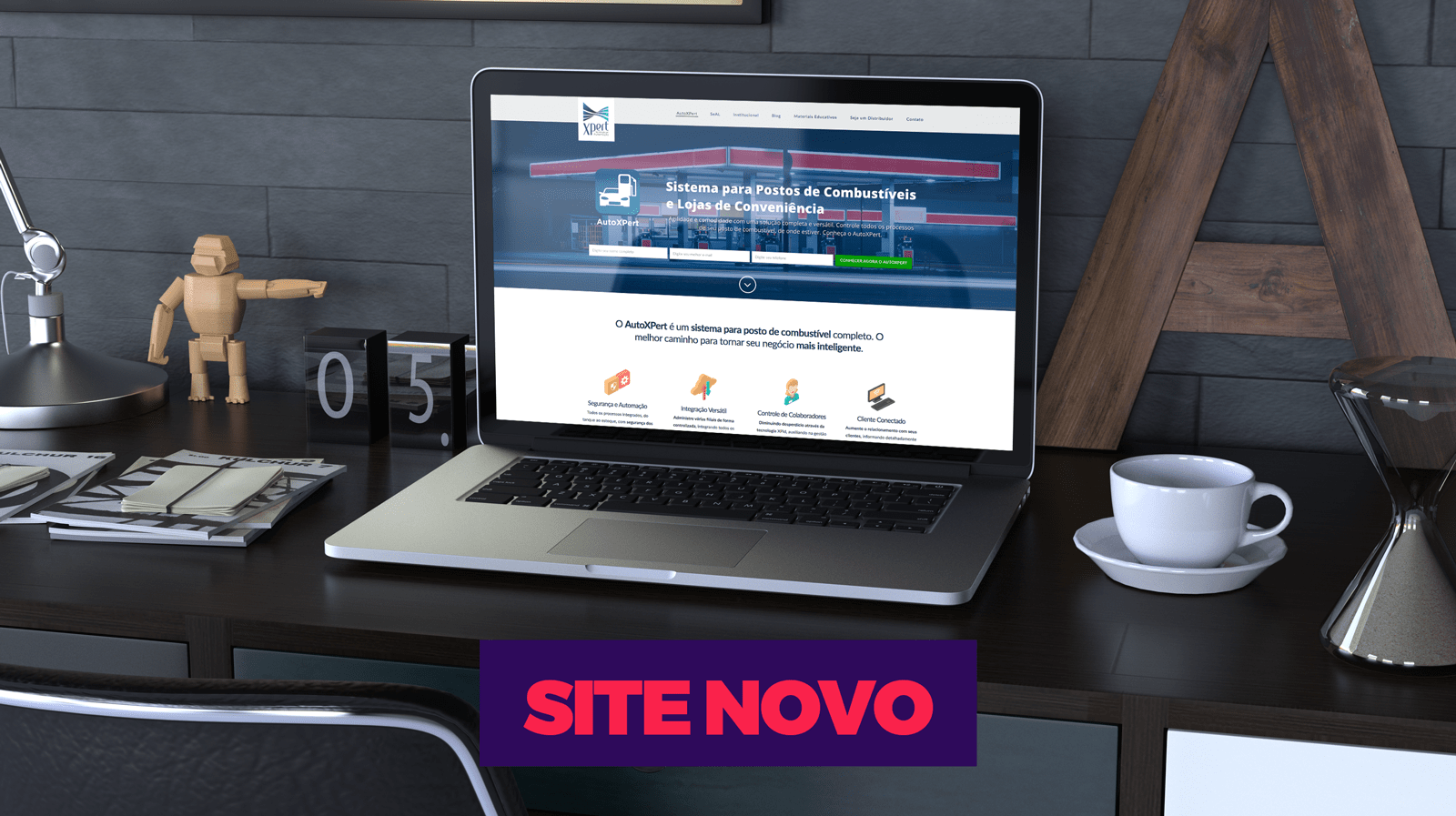 Fluxo Marketing Digital XPert Site Novo