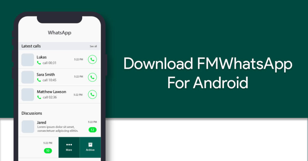 Download FMWhatsApp For Android