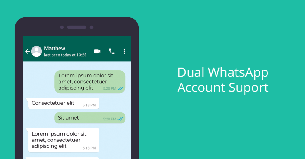 Dual WhatsApp Account Support Using FMWhatsApp