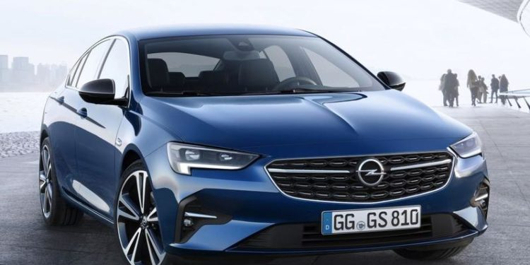 Opel Insignia po face liftingu