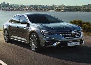Renault Talisman face lifting