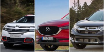Mazda CX-5, Citroen C5 Aircross, Honda CR-V