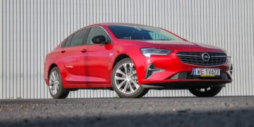 Opel Insignia face lifting