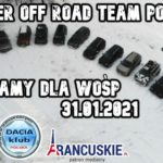 Duster Off Road Team Poland WOŚP