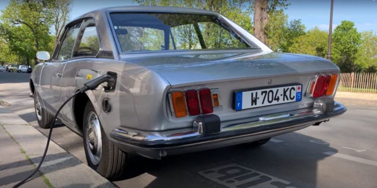 Peugeot 504 Coupe electric